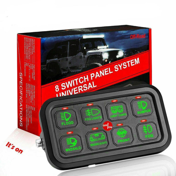 8 Gang Switch Panel and External Fuse Box - Yota Nation