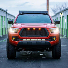 Load image into Gallery viewer, Raptor Style Matte Black Grille w/3 LED Lights - 2016+ Toyota Tacoma - Yota Nation