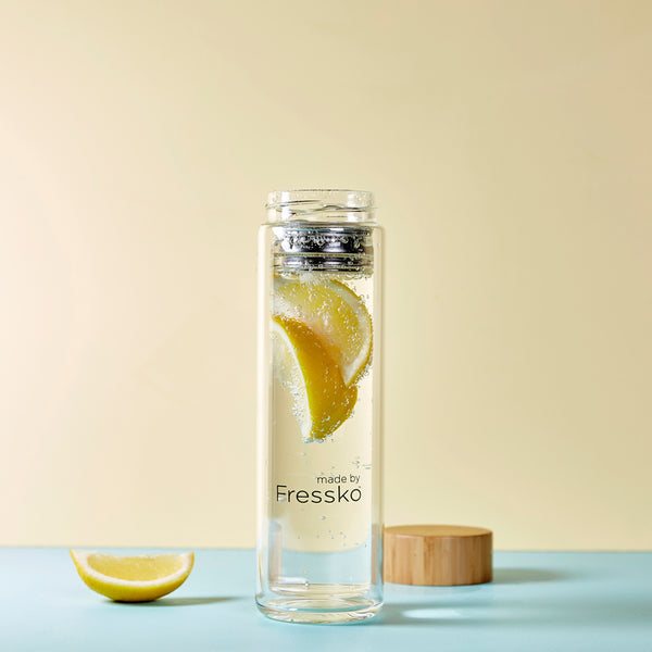 Maple Lemonade  in LIFT Fressko glass flask