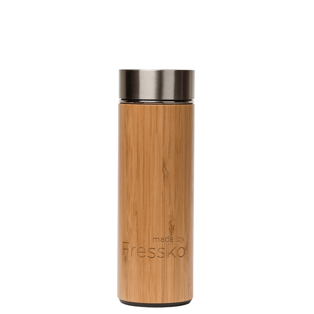 bamboo, coffee, stainless steel