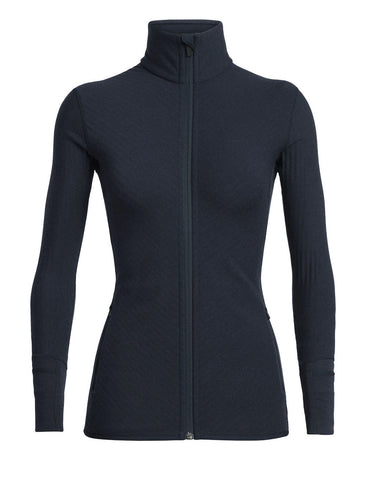 Icebreaker Women's Realfleece® Descender Long Sleeve Zip