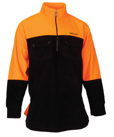 Betacraft Hi-Viz Fleece Half Zip