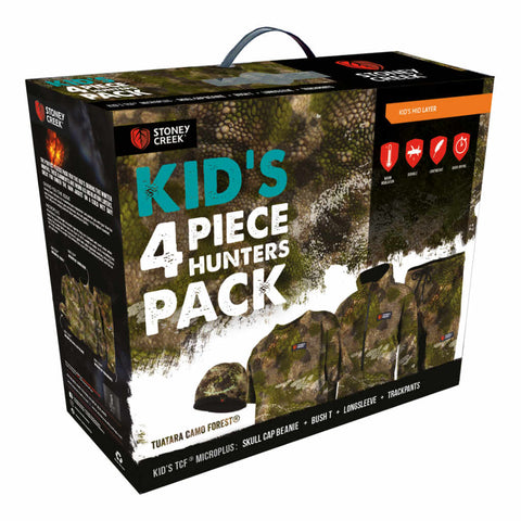 Stoney Creek Kid's 4 Piece Hunters Pack
