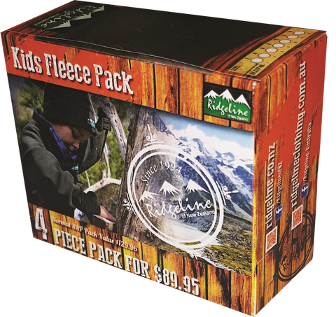 Ridgeline Kid's 4 Piece Fleece Pack