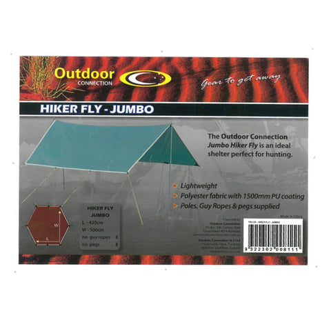 Outdoor Connections Hiker Fly Jumbo