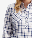 Swanndri Women's Barn Cotton Check Work Shirt