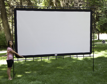 Load image into Gallery viewer, Projector  Portable Screen 144'