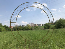 Load image into Gallery viewer, Round Metal Arch Floral Arch