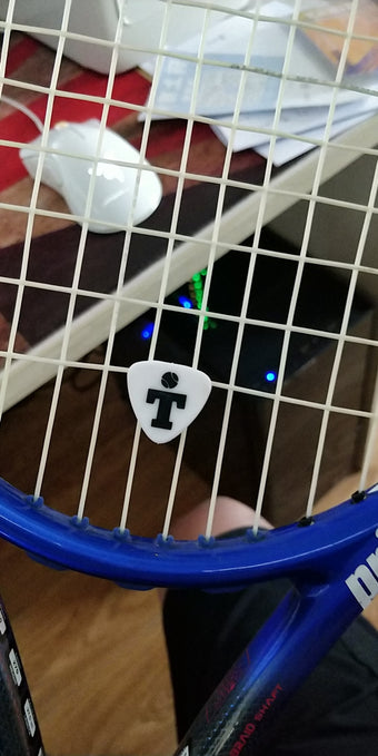 How To Put On Tennis Shock Absorber For A Tennis Racket - Takin