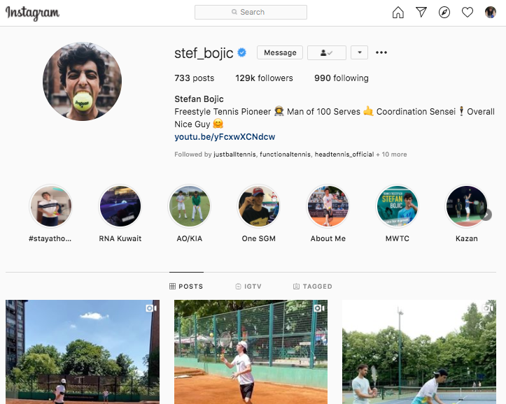 10 Best Tennis Instagram Follows