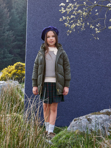 Parisian Casual Chic Winter Outfit for Girls by Cyrillus Paris