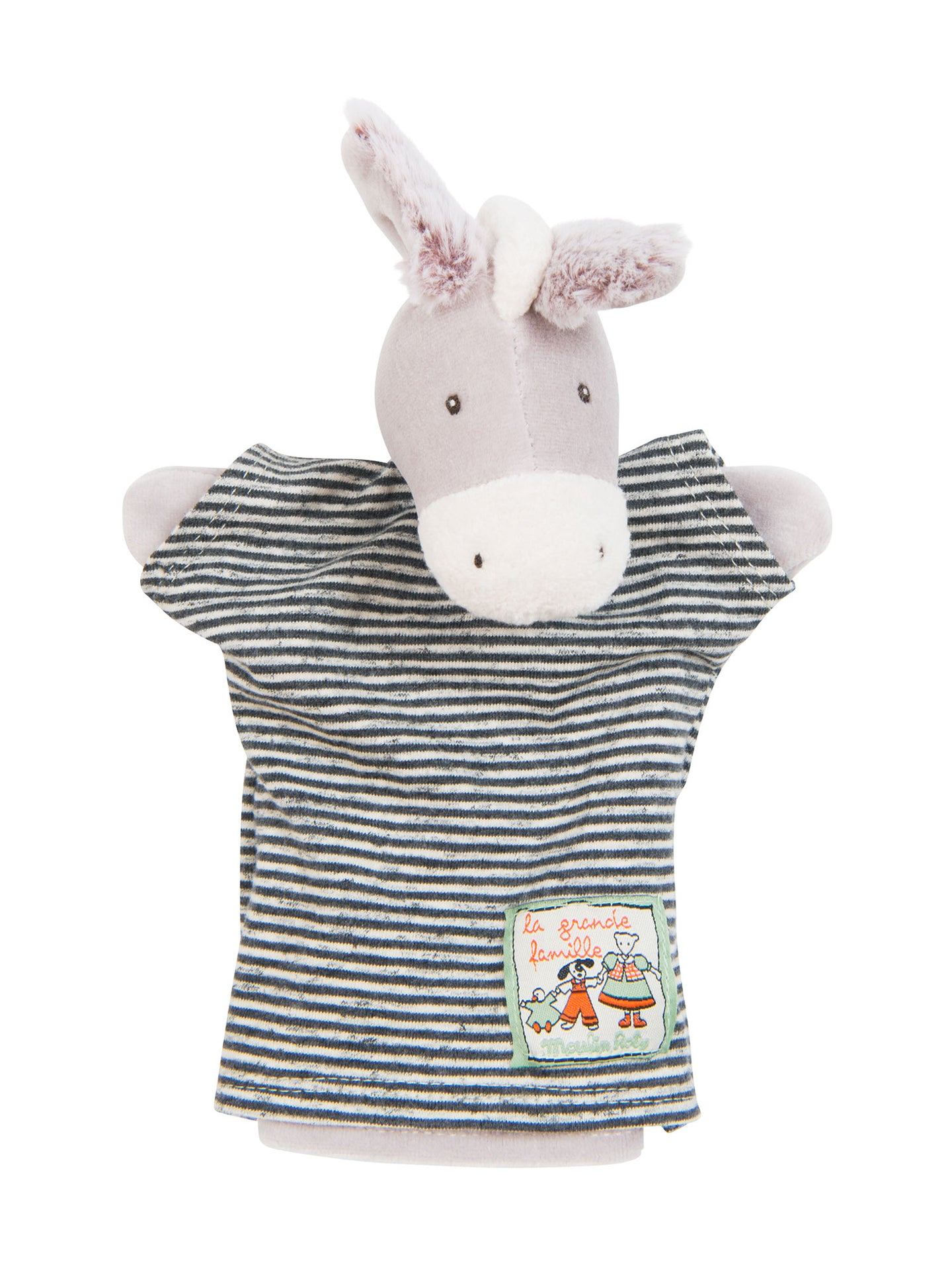 HAND PUPPET BARNABÉ THE DONKEY