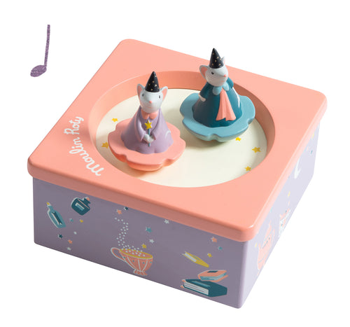 BABY ROOM TURNING MOUSE MUSIC BOX