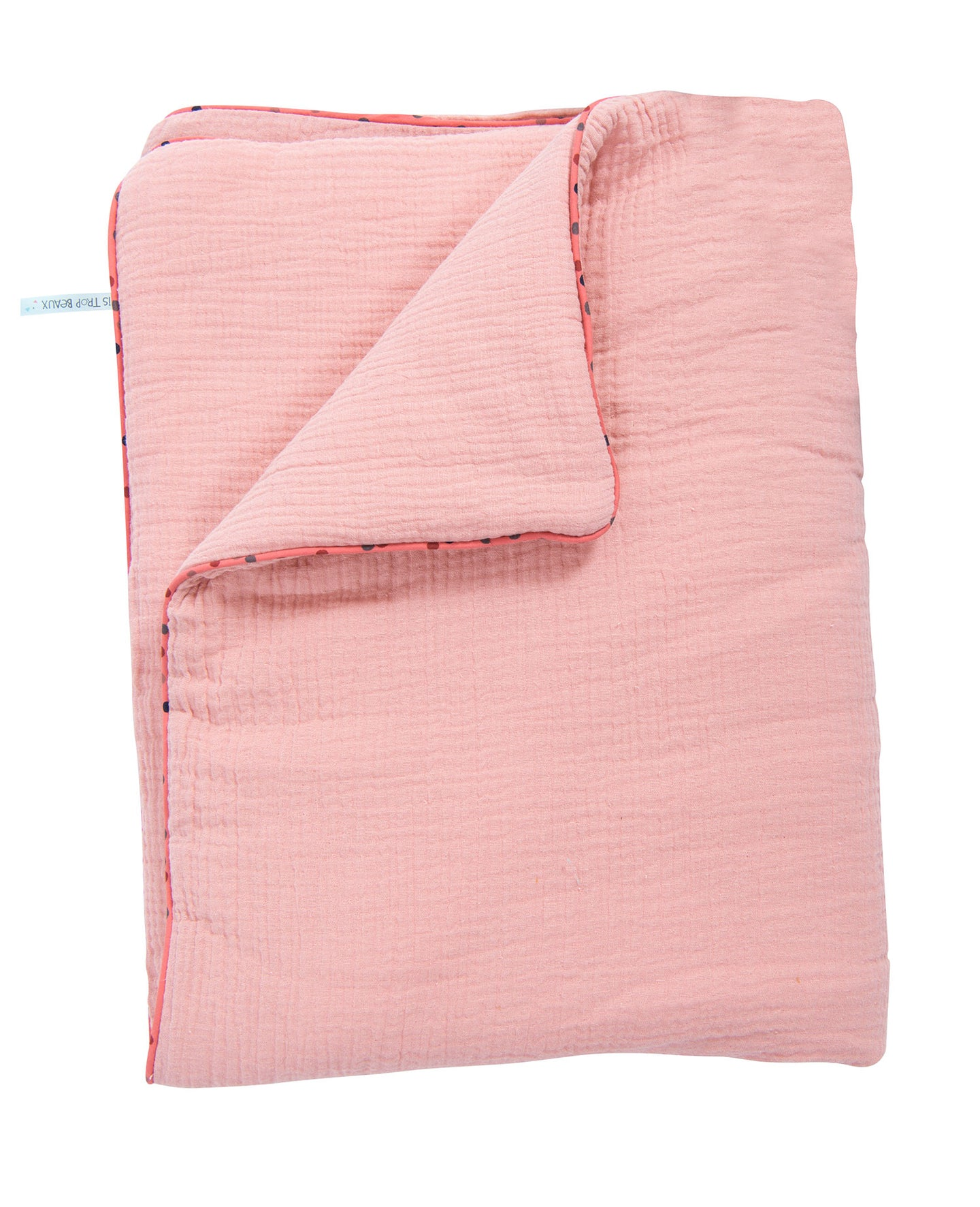 COTTON BLANKET (PINK)