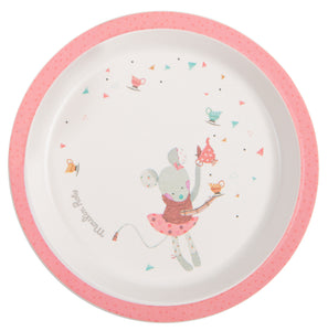 BAMBOO PLATE (PINK)