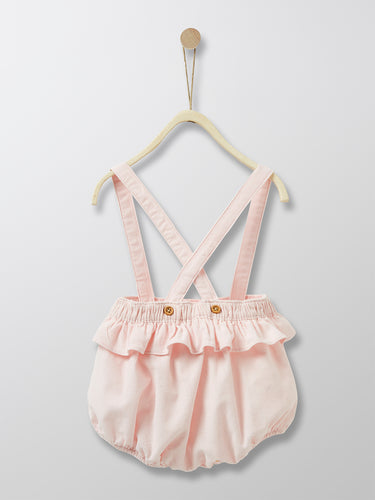 Cyrillus Paris | Girl Frill Bloomers | Rose | 6M, 12M, 18M