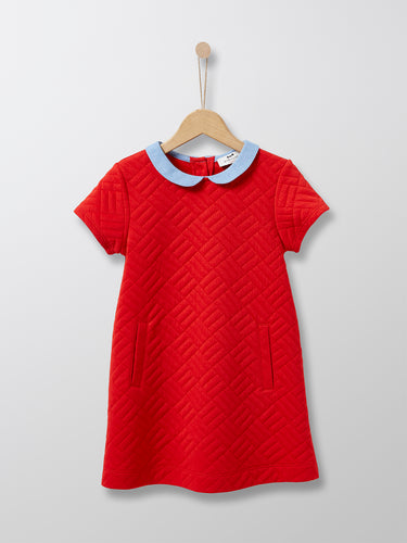GIRL 'CALIXIA' DRESS (RED)