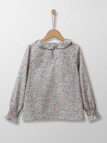 Cyrillus Paris | Liberty Blouse with Peter Pan Collar | Floral | 3Y, 4Y, 6Y