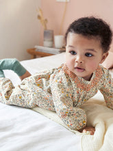 Load image into Gallery viewer, BABY LIBERTY FLORAL JUMPSUIT