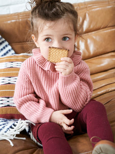 Cyrillus Paris | Sweater with Frill Collar | Cream | 4Y, 6Y, 8Y