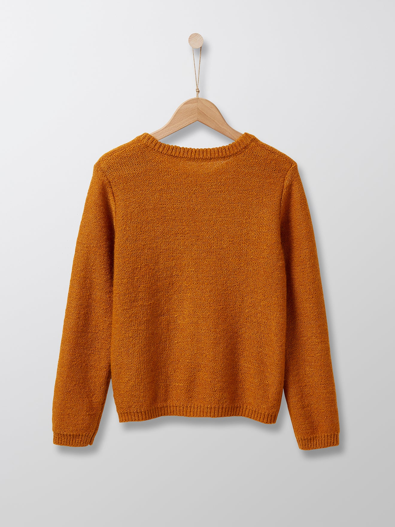 Cyrillus Paris | Knit Sweater | Mustard | 3Y, 4Y, 6Y