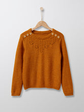 Load image into Gallery viewer, Cyrillus Paris | Knit Sweater | Mustard | 3Y, 4Y, 6Y