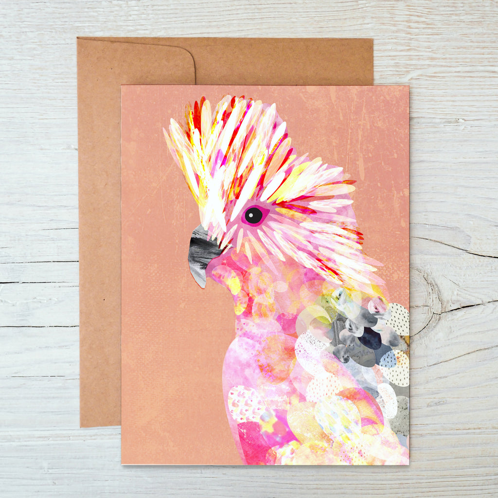 Galah A6 Notecard - Braw Paper Co