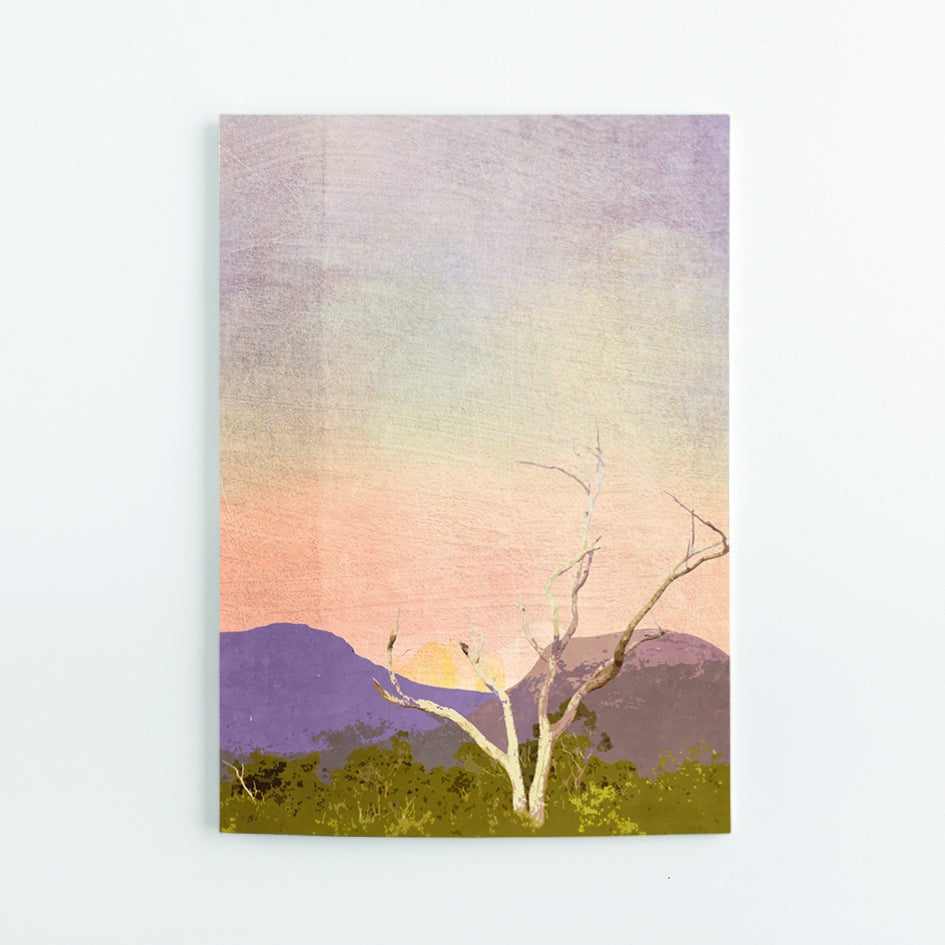 Sunset Over Bluff Knoll A5 Journal - Braw Paper Co