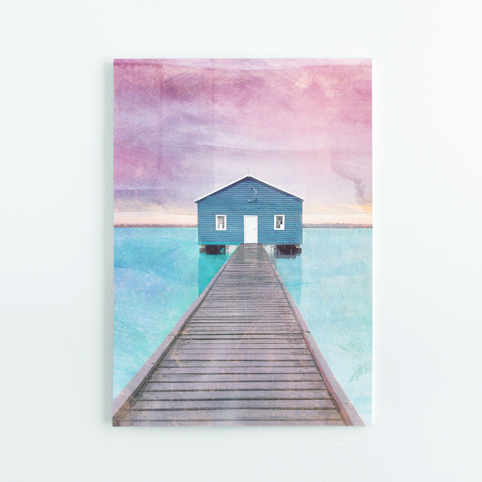 Crawley Boat House A5 Journal - Braw Paper Co