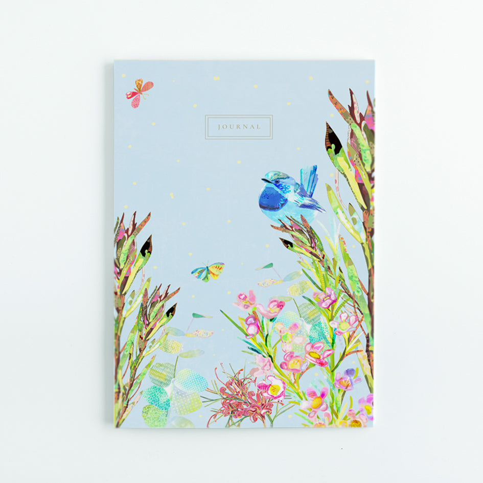 Spring In The Bush A5 Journal - Braw Paper Co