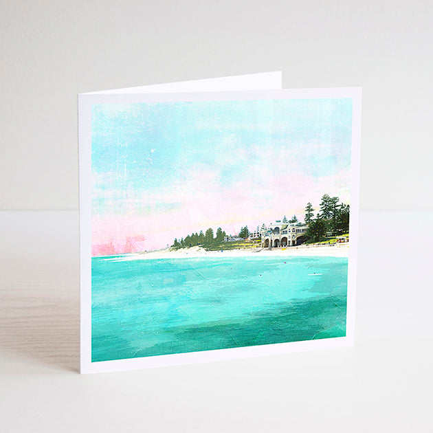 Cottesloe Beach Notecard - Braw Paper Co