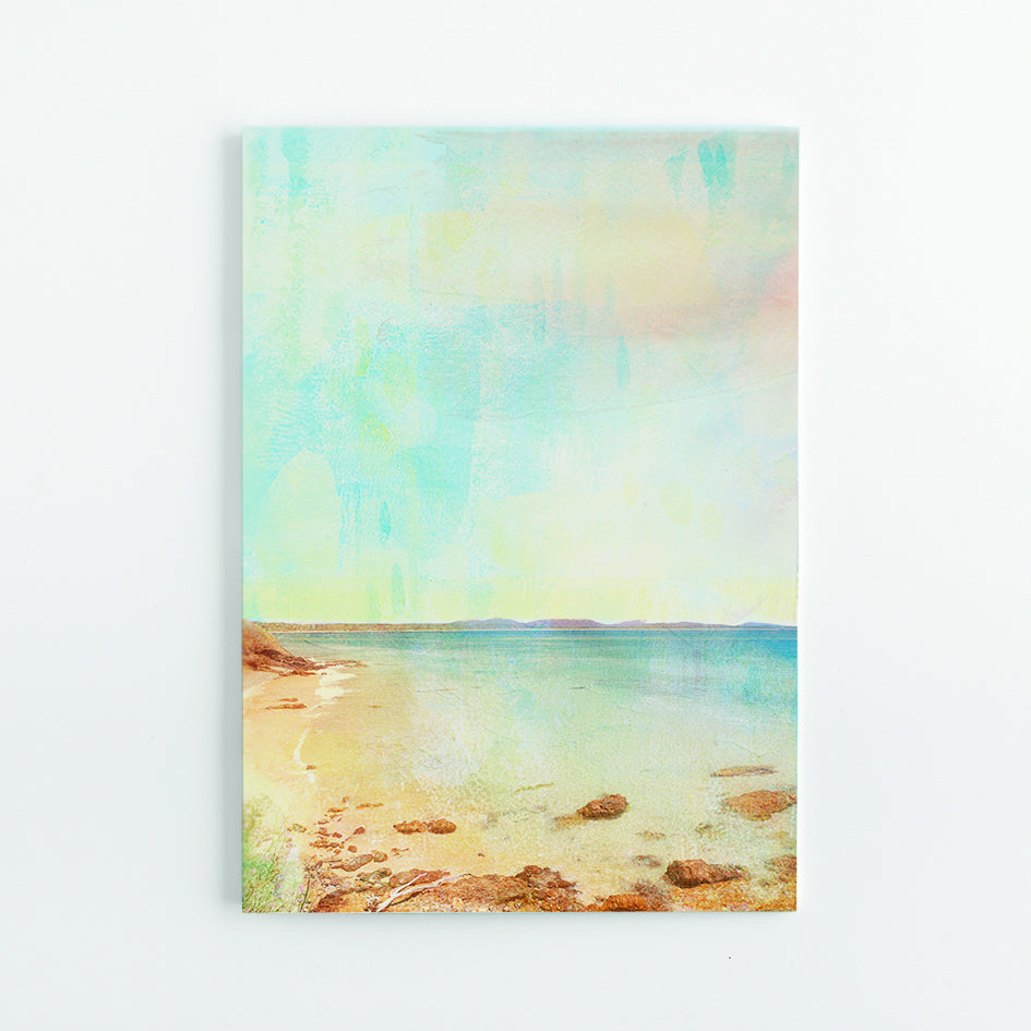 Little Wategos Beach A5 Journal - Braw Paper Co