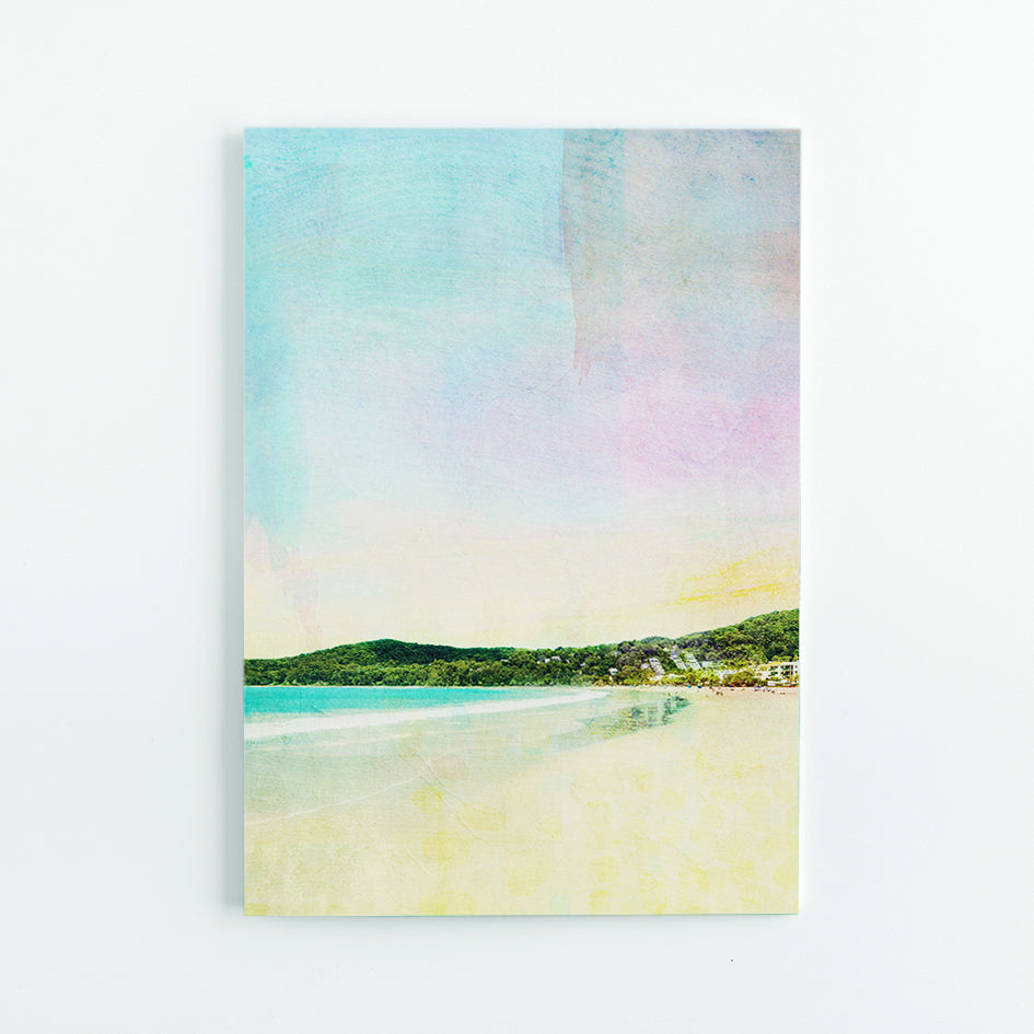 Noosa Main Beach A5 Journal - Braw Paper Co