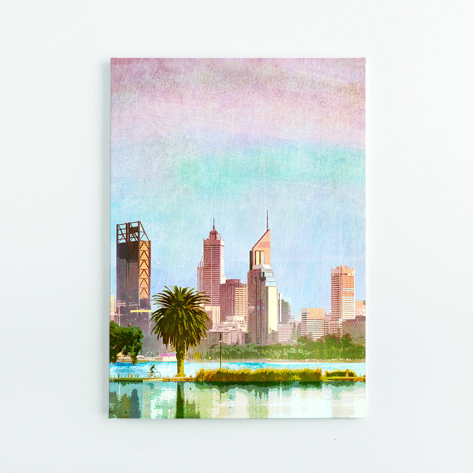 Perth City Skyline A5 Journal - Braw Paper Co
