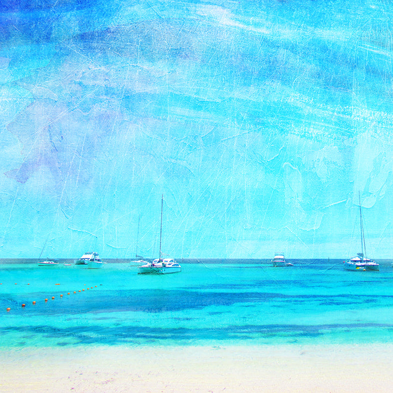 Summer On Rottnest Island Art Print - Braw Paper Co