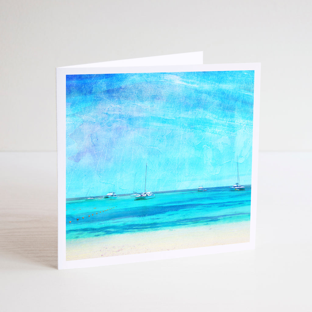 Summer on Rottnest Island Notecard - Braw Paper Co