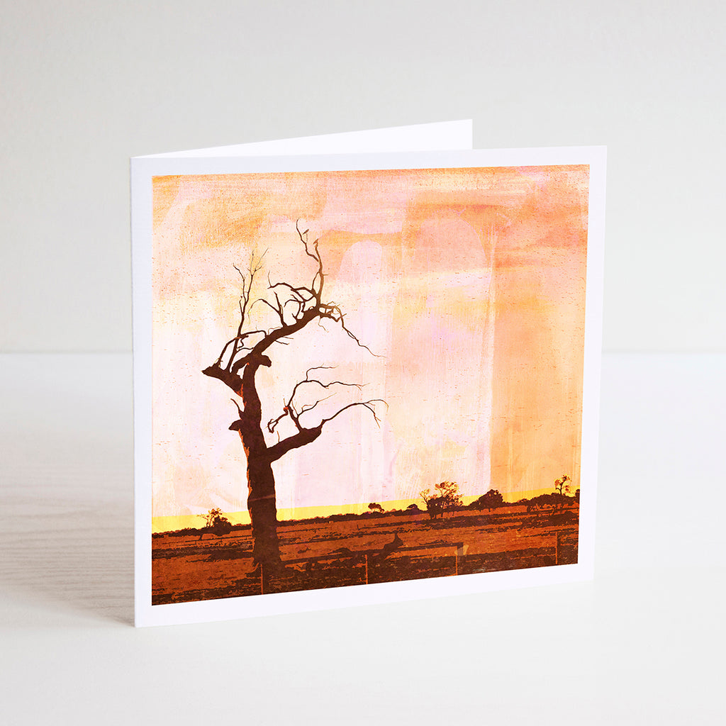 Scorched Earth Notecard - Braw Paper Co