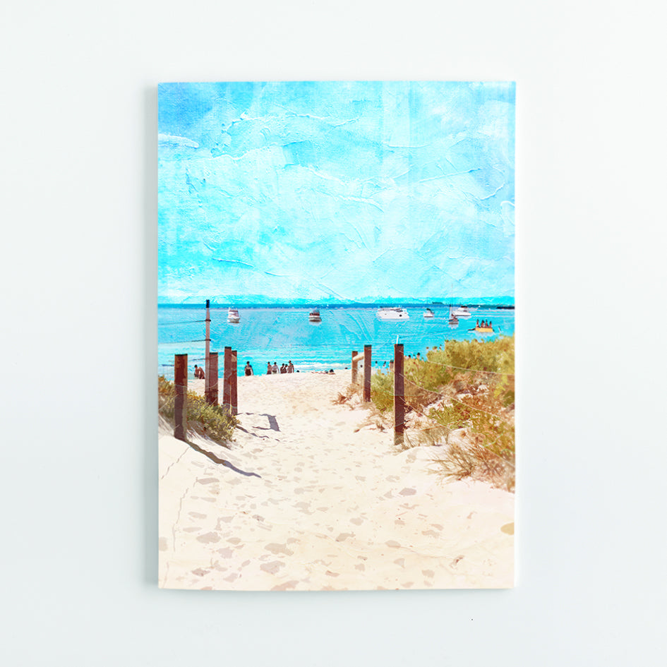 Summer Days at South Beach A5 Journal - Braw Paper Co