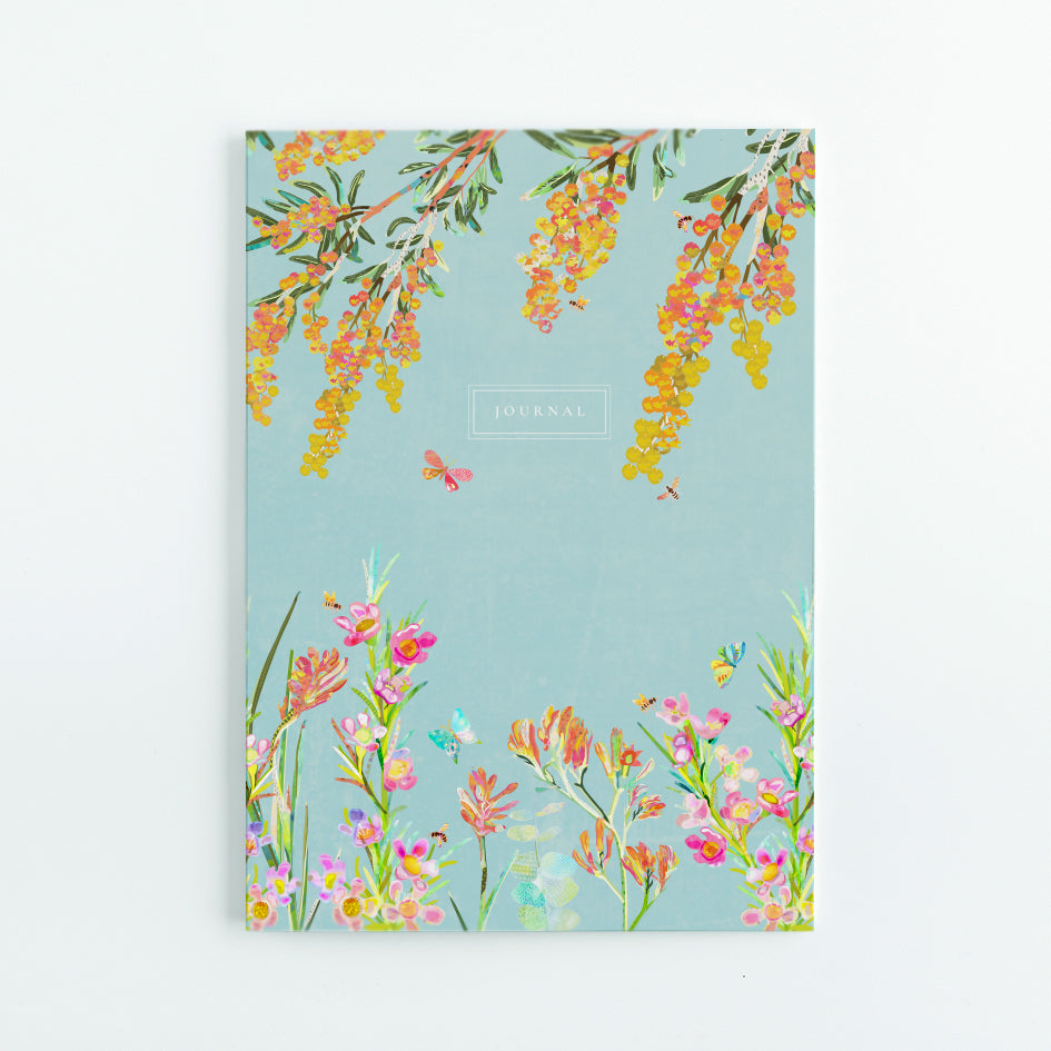 Native Florals A5 Journal - Braw Paper Co