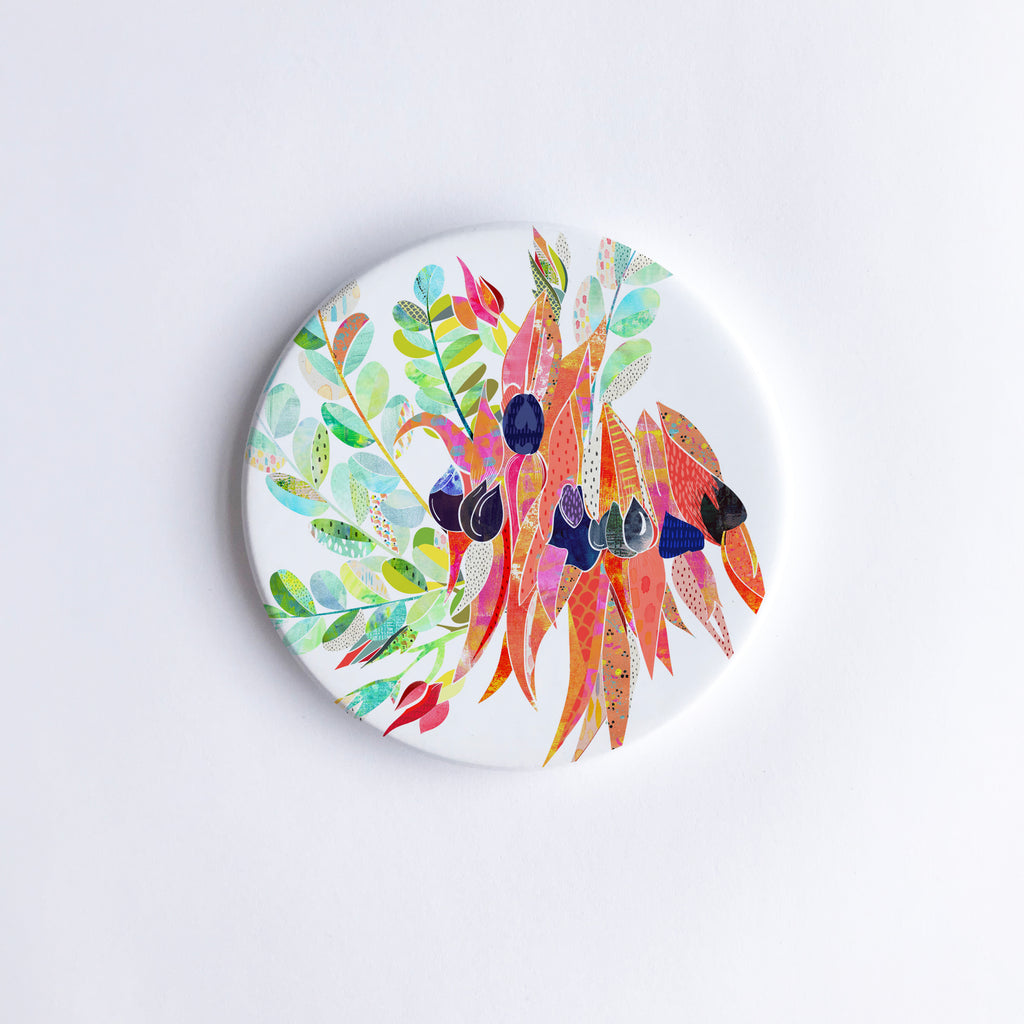 Australian Natives Multi-Buy Ceramic Coasters x 8 - Braw Paper Co
