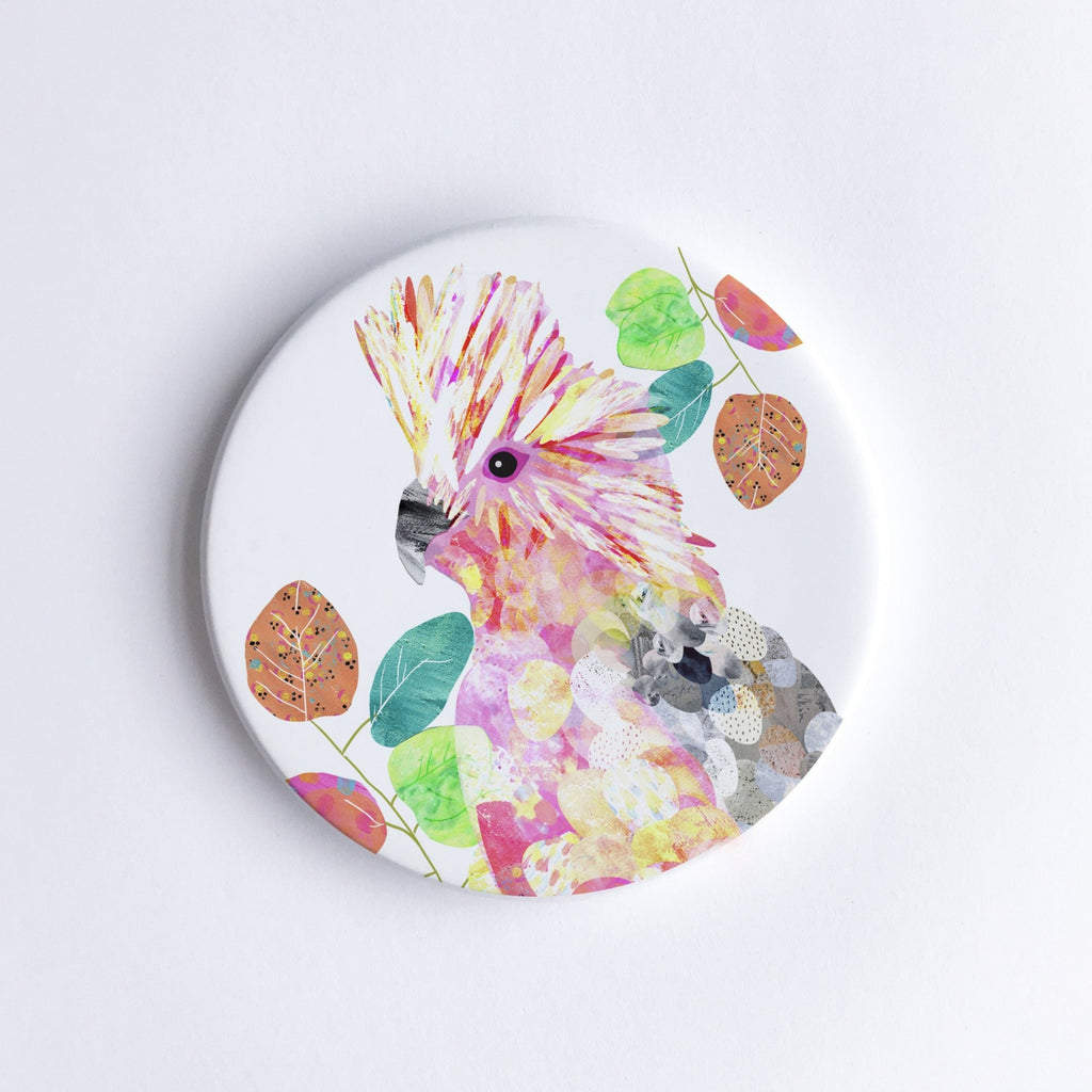 Galah Ceramic Coaster - Braw Paper Co