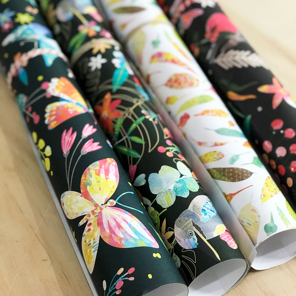 Gift Wrap - 'Summer Paradise' - Braw Paper Co