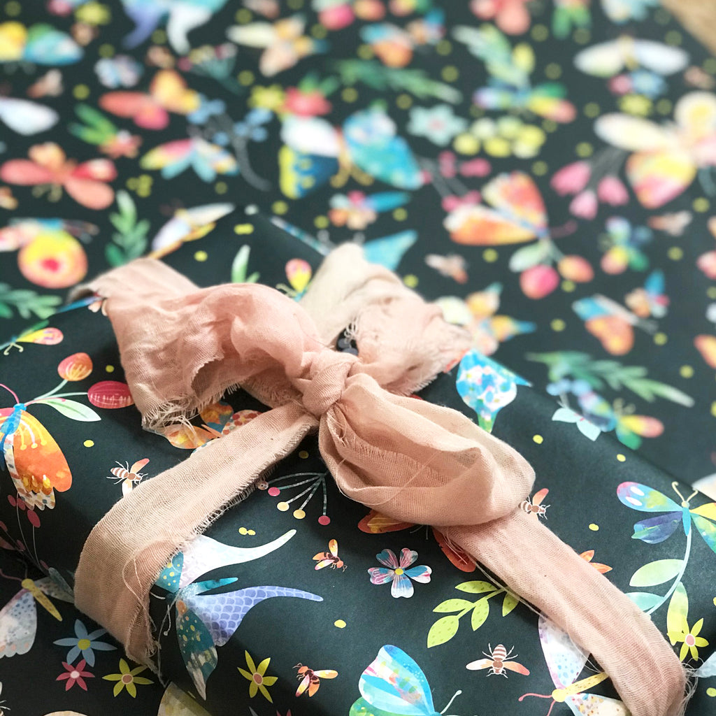 Gift Wrap - 'Spring Meadow' - Braw Paper Co