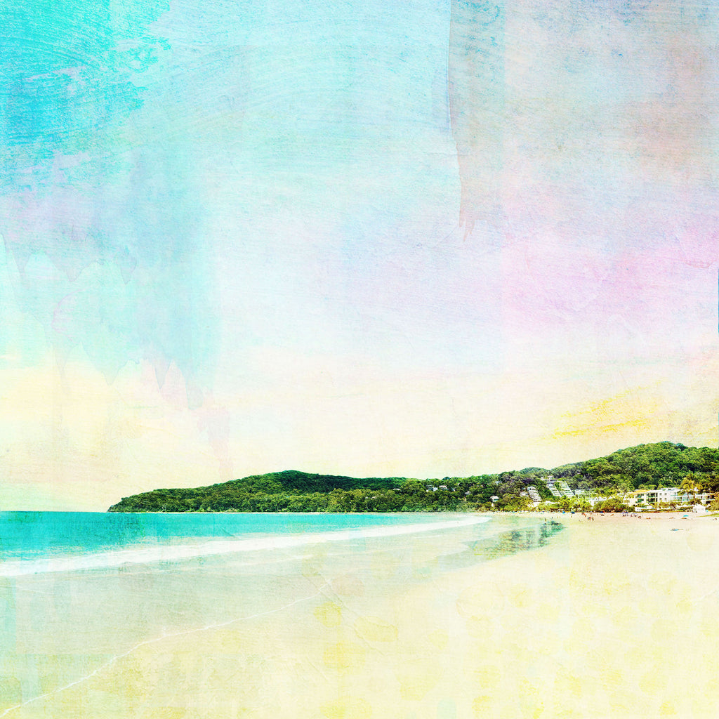 Noosa Main Beach Notecard - Braw Paper Co