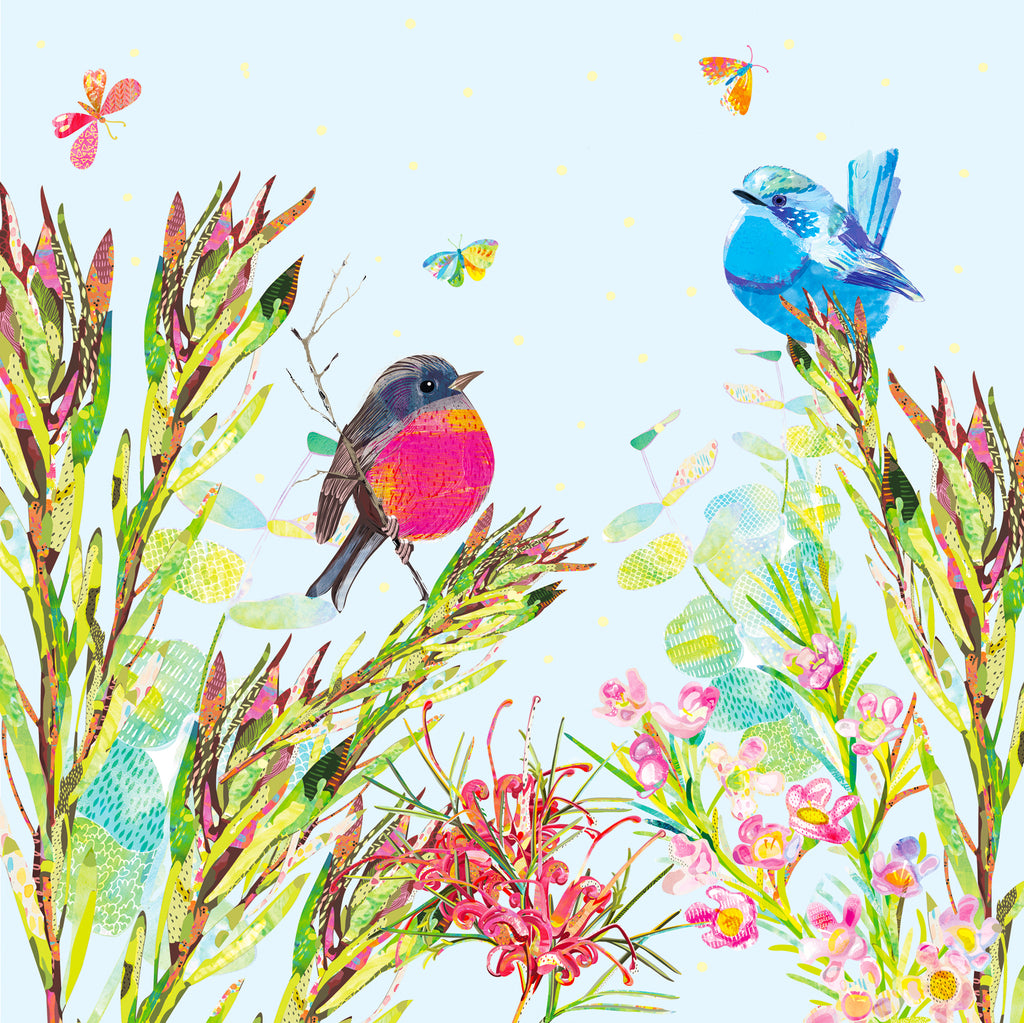 Spring in the Bush Art Print - Braw Paper Co