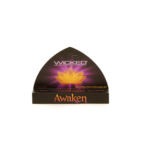 Wicked Sensual Care Awaken Stimulating Clitoral Gel Black 8.6ml