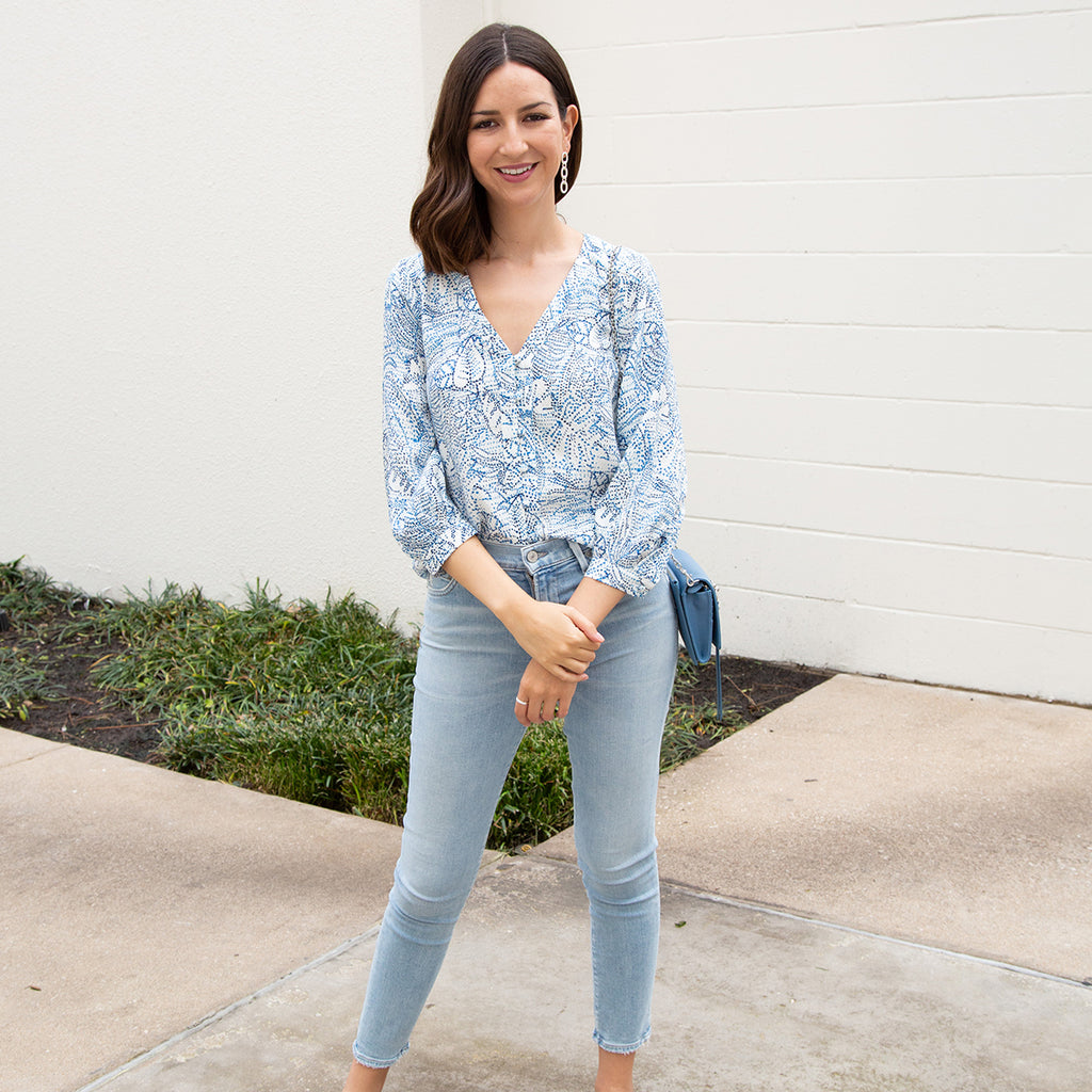 Shades of Blue: Casual Cool