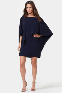 Boat Neck Flowy Dress