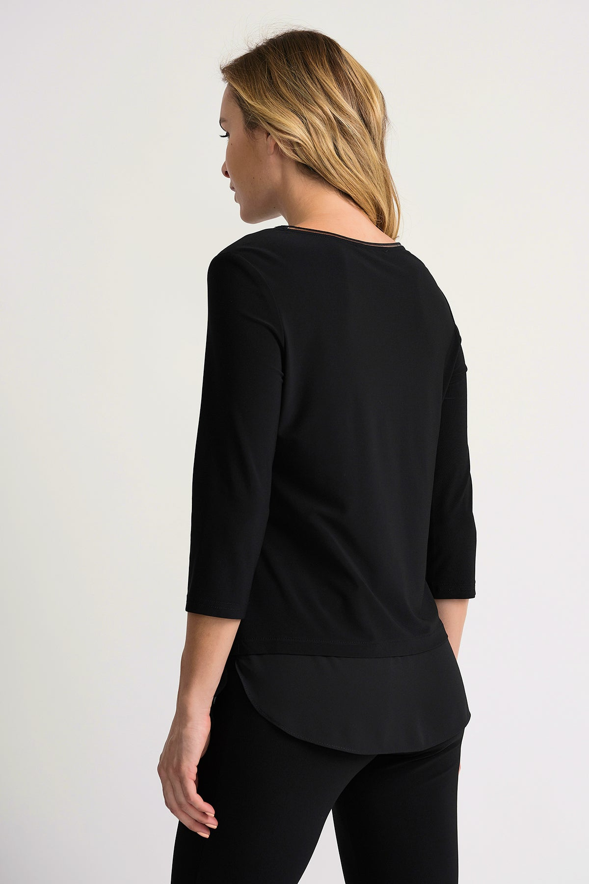 Solid Long Sleeve Basic Top