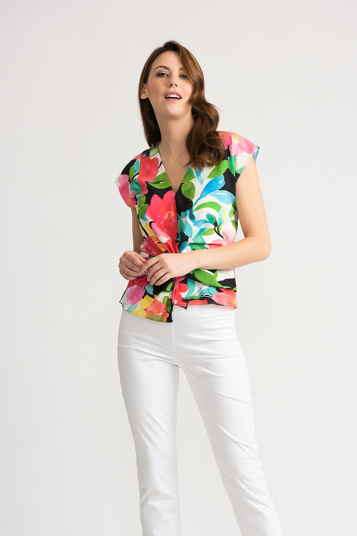 Floral Short Sleeve Top